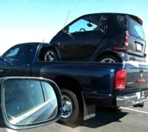 pick-up-truck-hauling-smart-car